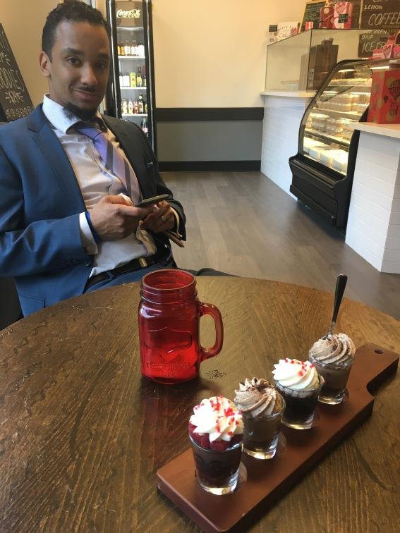 Dessert Date at Pie Bar