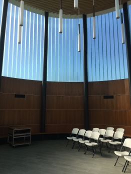 Interior of Temple Beth Sholom, Orange County